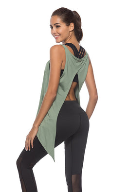 Women Sports Yoga Tank Tops Dry Quick