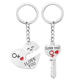 Fashion Heart Key Ring Romantic Keychain