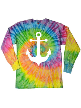 Long Sleeve Tie Dye Tee Shirt