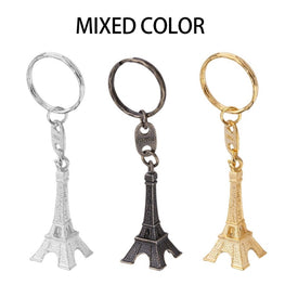 Retro Mini Paris Eiffel Tower Keychain