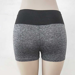 Fitness Clothing Patchwork Sports Shorts