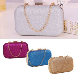 Mini Women Shoulder Bags Gold Clutch