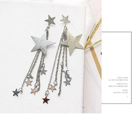 HOT Shooting Star Rhinestone Earrings