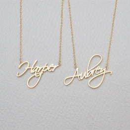 Personalized Gift Customized Pendant Cursive