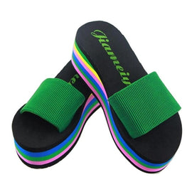 flip flops girls sandals Rainbow