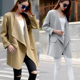 Women Jacket Warm Winter Trench