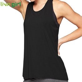 Women Casual Loose Yoga Tops