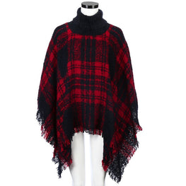 Sweater women poncho pullover