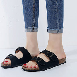 Casual Sandals summer slippers buckle platform