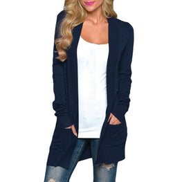 Casual Long Knitted Cardigan Autumn