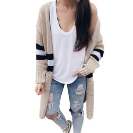 jacket women Women's Long Sleeve Knitwear