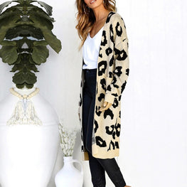 Ladies Sweater Coat Long Cardigan