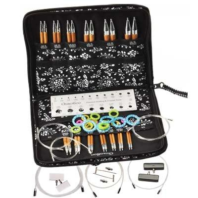ChiaoGoo Spin Interchangeable Knitting Needle Set