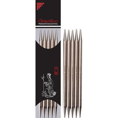 "ChiaoGoo 8"" Double Point Needles"