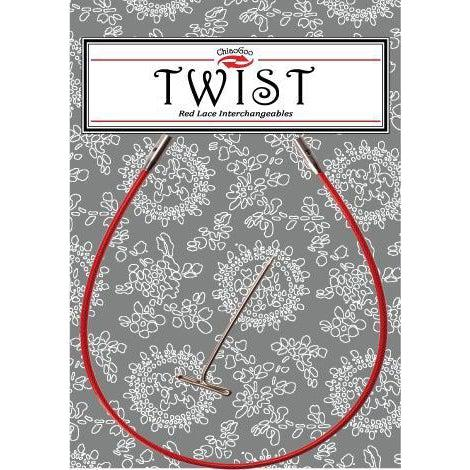 ChiaoGoo Twist Red Cable - Large - Twist Yarn Co.