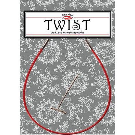 ChiaoGoo Twist Red Cable - Small-Twist Yarn Co.