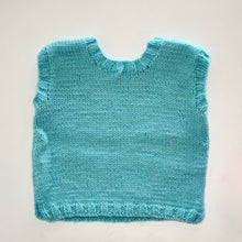 Hand knit woollen vest for baby