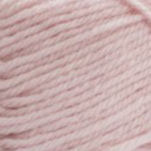 Marshmallow pink 8 ply wool
