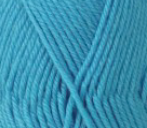 Bright sky blue 8ply pima cotton