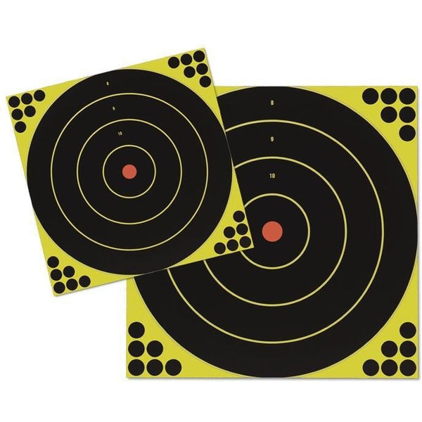 "12"" Bulls-Eye, 5 Targets (34012) - Shoot'N'C Self-Adhesive Targets (BRC-TR-004)"