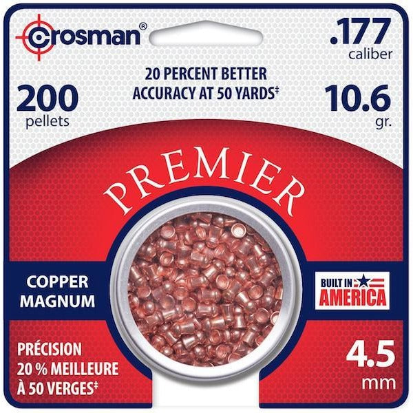 Copper Magnum Domed (CPD77) .177 (CRS-PL-025)