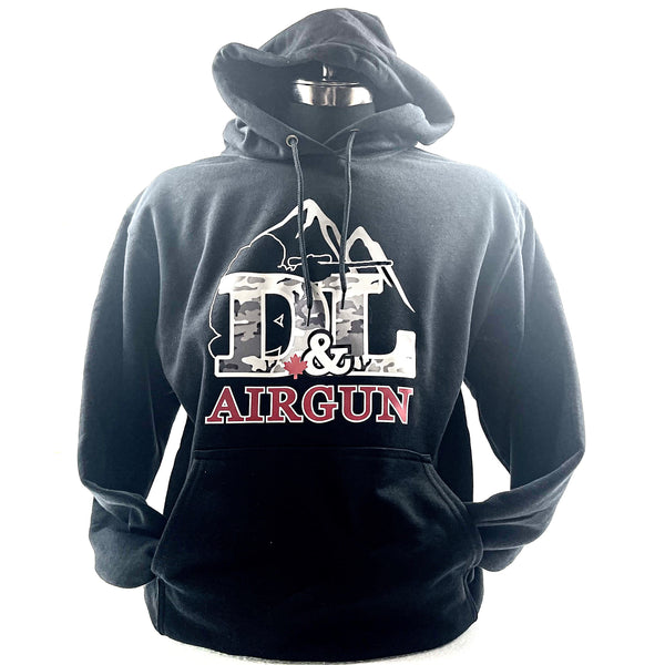 Black 2X-Large D&L Airgun Hoodie