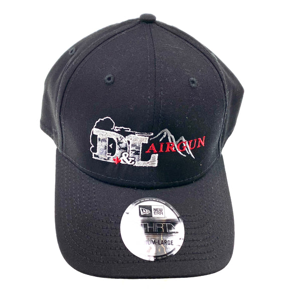 Black Medium-Large D&L Airgun Baseball cap