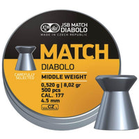 Yellow Match Middle Weight .177 (JSB-PL-054)