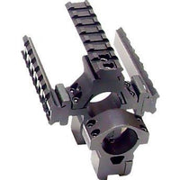 Deluxe Tactical Tri-Rail Rings Medium Profile (RG178-25DM) (LEP-MN-002)