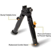 Extra Low Profile Fixed Length Shooter Bipod (TL-BP28XS) (LEP-AC-008)