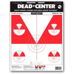 "Dead Center Shooting Targets - 9""X12"" Paper - 12 Pack (4501) (TMP-TR-008)"