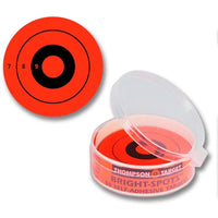 "Stick-Um-Up Bright Spots Orange 2.25"" Adhesive Targets - 50 Pack (5240) (TMP-TR-024)"