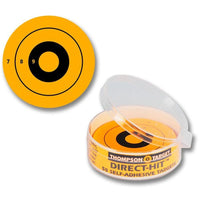 "Stick-Um-Up Super Sight Yellow 2.25"" Adhesive Targets - 50 Pack (5250) (TMP-TR-025)"