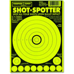 "Shot Spotter Green - Adhesive Shooting Targets - 6""X9"" - 10 Pack (5502) (TMP-TR-014)"