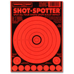 "Shot Spotter Orange - Adhesive Shooting Targets - 6""X9"" - 10 Pack (5504) (TMP-TR-016)"