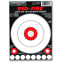 "Red-Fire 6""X9"" Adhesive Peel & Stick Targets - 10 Pack (5595) (TMP-TR-020)"