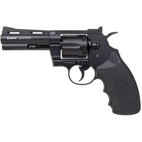 "Raptor CO2 revolver .177 6"" (DIA-AP-042)"