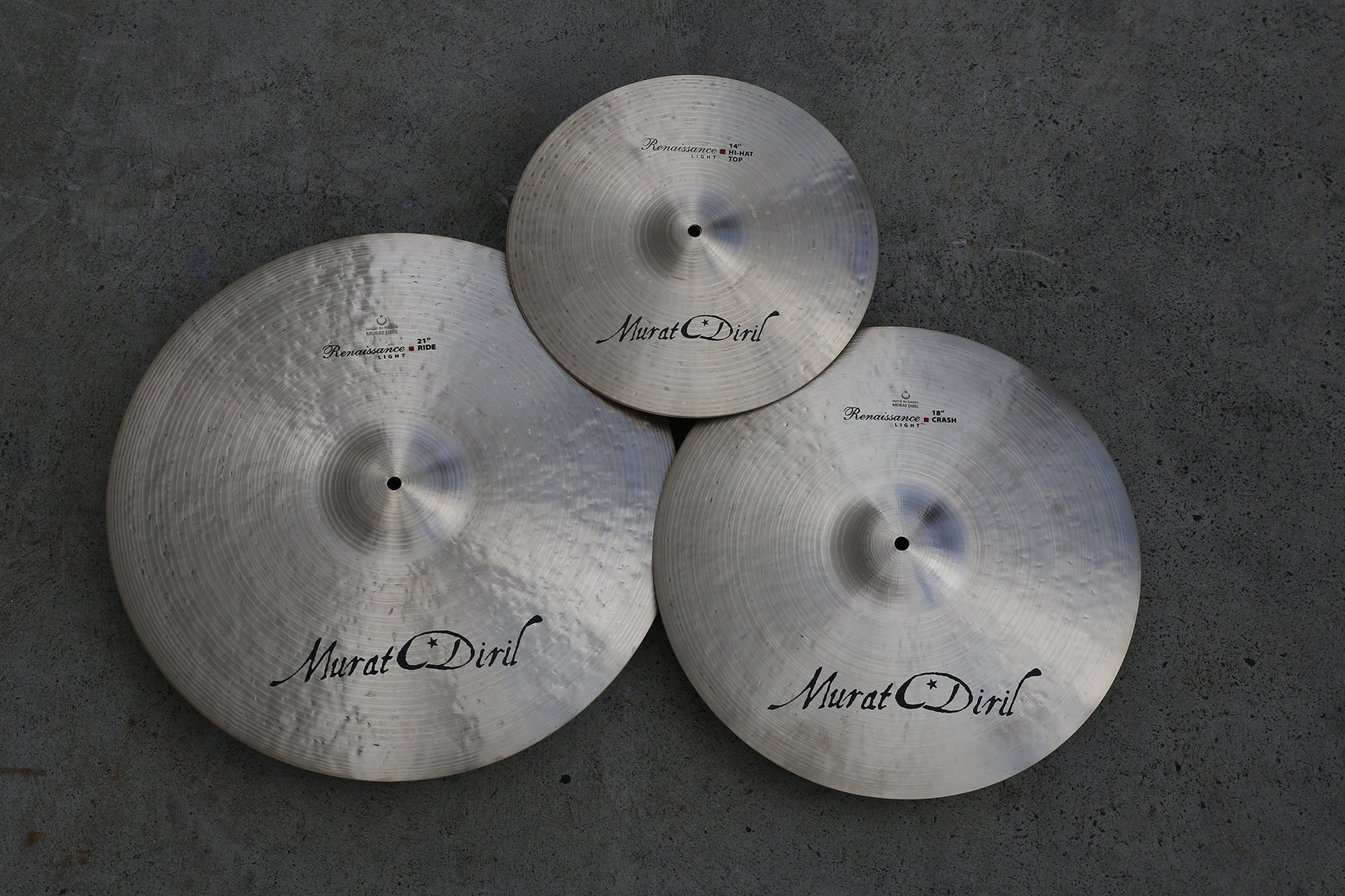 MURAT DIRIL Definitive Renaissance Premium Cymbal Pack