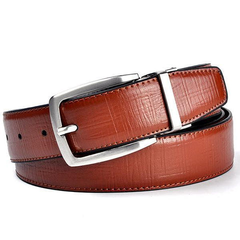 LUXURY LEATHER BELT (REVERSIBLE)