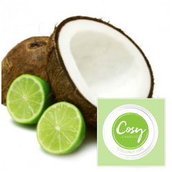 Coconut Lime scented soy wax melts
