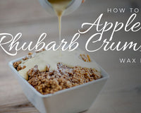 How to make Apple & Rhubarb Crumble wax melts - Mixology #8