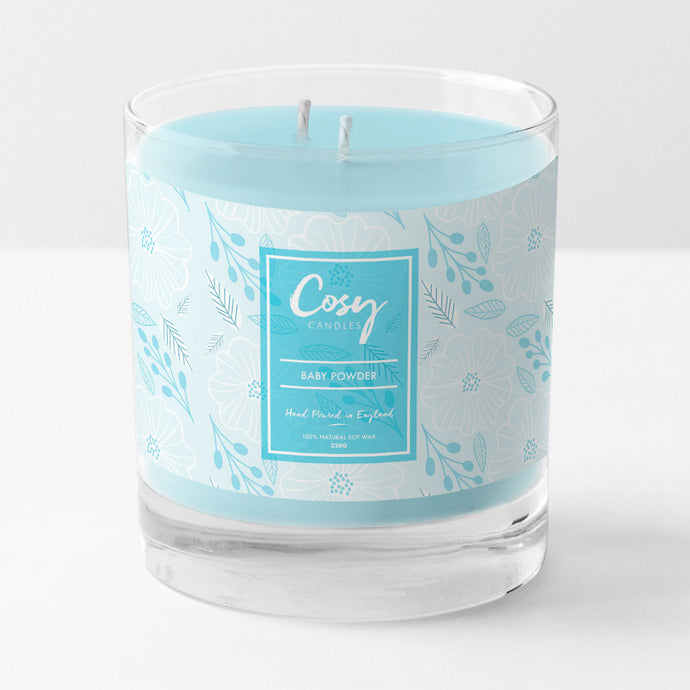 Our new twin wick scented soy wax candles