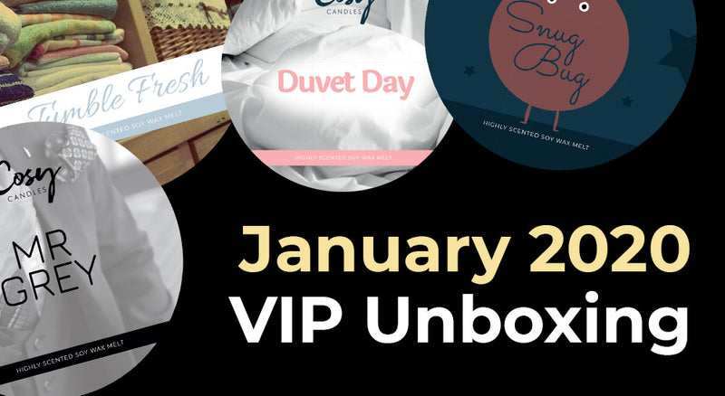 January 2020 VIP Subscription Unboxing