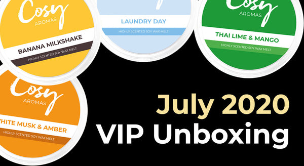 July 2020 VIP Subscription Unboxing