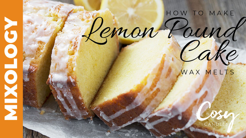 How to make lemon pound cake wax melts