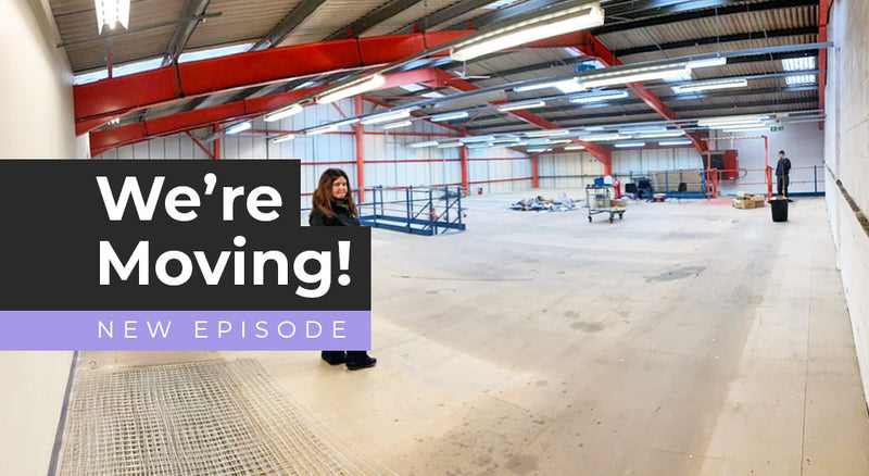 We're moving to a 10,000sqft warehouse!