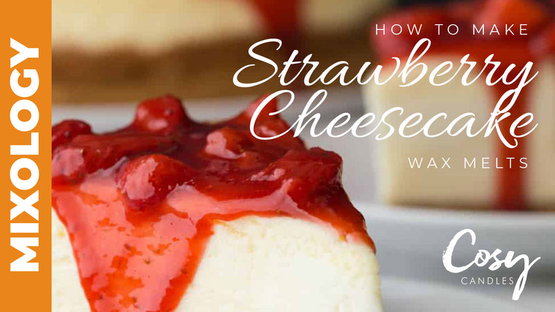 How to make strawberry cheesecake wax melts