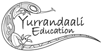 Yurrandaali Education - logo showing an image of a goanna