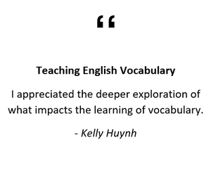 Teaching English Vocabulary