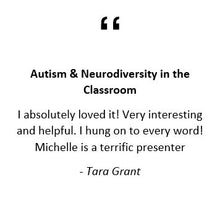 Autism & Neurodiversity in the Classroom